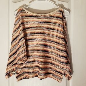 Anthropologie Postmark Crop Top Sweater